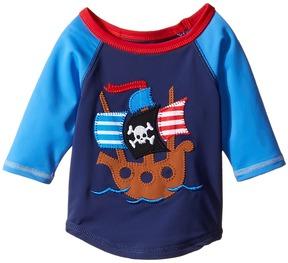 Mud Pie Pirate Shark Rashguard (Infant/Toddler)