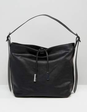ALDO Minimal Drawstring Bucket Shoulder Bag