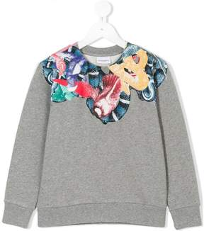 Marcelo Burlon County of Milan Kids snakes and birds print sweatshirt