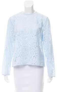 Barneys New York Barney's New York Lace Long Sleeve Top w/ Tags