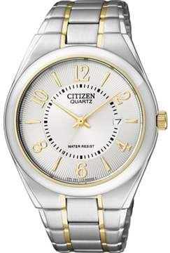 Citizen Men's BI0954-50A Silver Stainless-Steel Analog Quartz Watch