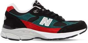 New Balance 991.9 Made In England Leather Sneakers