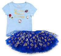 Disney Beauty and the Beast Skirt Set - Tutu Couture - Girls