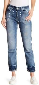Scotch & Soda Bandit Stitched Straight Leg Jeans