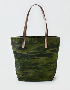 American Eagle Outfitters AE Camo Canvas Tote