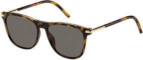 Marc Jacobs Square Monochromatic Sunglasses, Brown