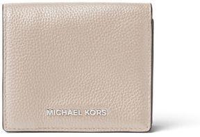 MICHAEL Michael Kors Mercer Leather Card Case - CREAM - STYLE