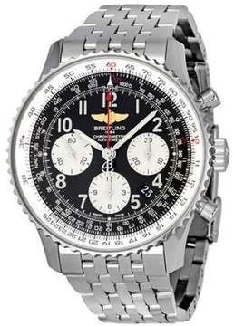 Breitling Navitimer 01 Chronograph AB0120 Stainless Steel Automatic Mens Watch