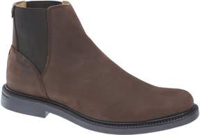 Sebago Dark Brown Turner Leather Chelsea Boot - Men