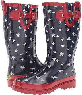 Western Chief Patriotic Stars Women's Shoes