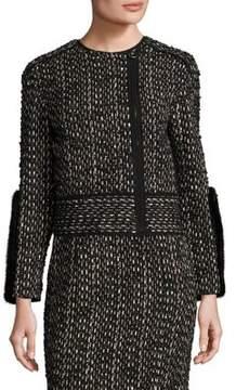 Agnona Wool & Mink Jacket