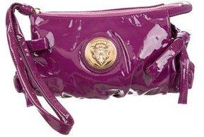 Gucci Patent Leather Hysteria Clutch - PURPLE - STYLE