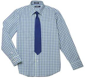Chaps Boys 8-20 Plaid Shirt & Tie Set