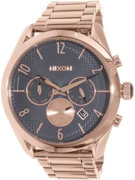 Nixon Men's Bullet A3662046 Rose Gold Stainless-Steel Quartz Dress Watch