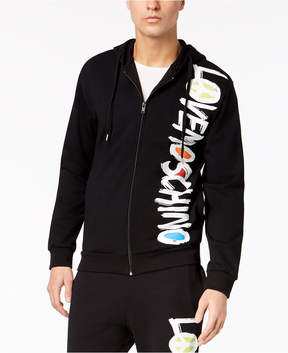 Love Moschino Men's Zip-Front Hoodie