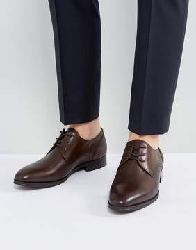 Aldo Lauriano Derby Leather Shoes In Brown