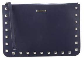 Rebecca Minkoff Leather Studded Clutch