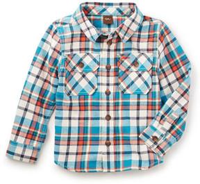 Tea Collection Visu Flannel Shirt (Toddler, Little Boys, & Big Boys)