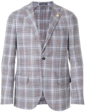 Lardini check blazer