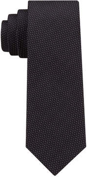 DKNY Men's Textured Dash Slim Tie
