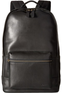 Fossil Estate Leather Backpack Backpack Bags