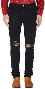 Amiri Men's Embellished Slim Jeans