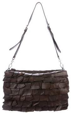 Miu Miu Leather Zip Shoulder Bag