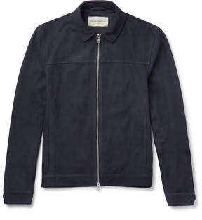 Oliver Spencer Suede Blouson Jacket
