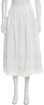 Brock Collection Linen Stella Skirt w/ Tags