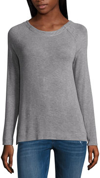 Libby Edelman Long Sleeve X-Back Tee
