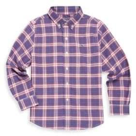 Vineyard Vines Toddler's, Little Boy's & Boy's Peak Plaid Cotton Button-Down Shirt