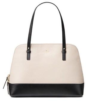 Kate Spade Grand Street Colorblock Rachel Shoulder Bag. - WHITE - STYLE