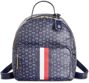 Tommy Hilfiger Julia Coated Logo Small Backpack