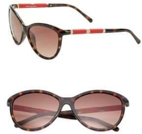 Diane von Furstenberg Reese 58mm Cats Eye Sunglasses