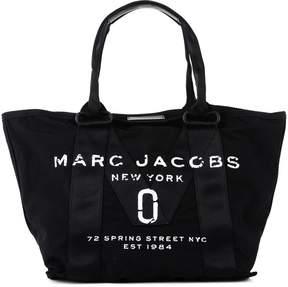 Marc Jacobs Logo Print Tote - BLACK - STYLE