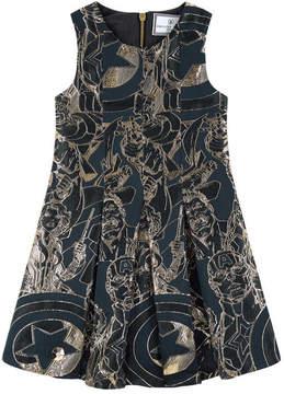 Philipp Plein Avengers jacquard knit dress
