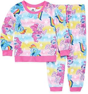 My Little Pony 2-pc. Pant Pajama Set Girls
