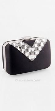 Camille La Vie Satin Mini Box Handbag