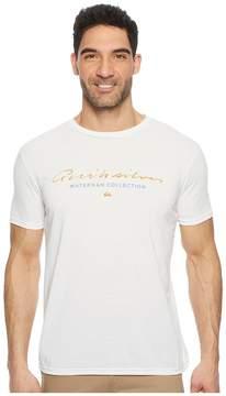 Quiksilver Waterman Simple Short Sleeve Tech Tee Men's T Shirt