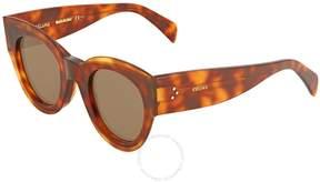 Celine Petra Brown Round Sunglasses CL41447S 8670