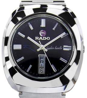 Rado Sapphire Gazelle Stainless Steel Automatic 37mm Mens Watch 1970s