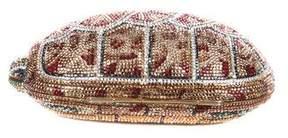 Judith Leiber Crystal-Embellished Turtle Minaudière