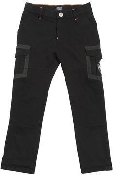 Armani Junior Cotton Gabardine Pants