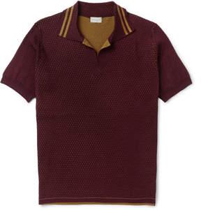 Dries Van Noten Slim-Fit Double-Faced Cotton Polo Shirt