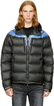 Marcelo Burlon County of Milan Black Down Patak Jacket