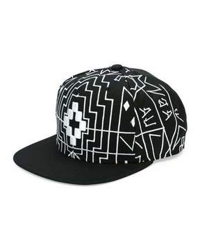 Marcelo Burlon County of Milan Starter Saloman Cap, Black