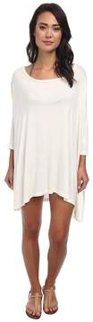 Body Glove Brynn 3/4 Sleeve Tunic Cover-Up Women's Dress