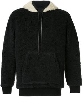 3.1 Phillip Lim faux shearling hoodie