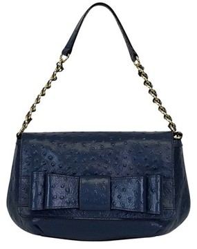 Kate Spade Blue Textured Handbag - BLUE - STYLE
