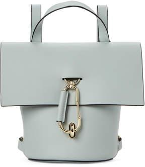 Zac Posen Grey Belay Leather Backpack
